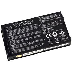 Аккумулятор / 11,1V / 4800mAh / 53Wh черный Asus N80Vb