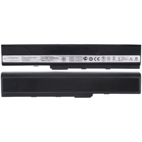 Аккумулятор / 10,8V / 4400mAh / 48Wh черный Asus A42DE