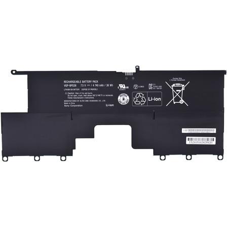Аккумулятор / 7,5V / 4740mAh / 35Wh для Sony Vaio SVP1322M9R