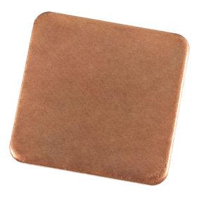 Медная прокладка для ноутбука на чип, 15*15мм, толщина 1 мм