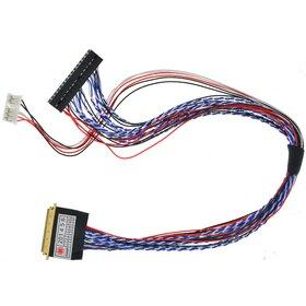 LVDS шлейф 40 пин для тестера матриц (2 канальный)
