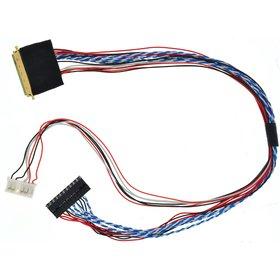 Шлейф для тестера матриц 40pin LVDS (1 канальный)