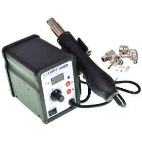 Паяльная станция SMD - SAIKE 858D без паяльника с набором насадок