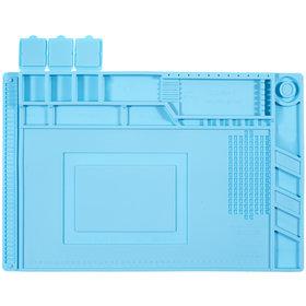 Коврик силиконовый, теплоизоляционный для разбора и пайки 45х30 см (S160)