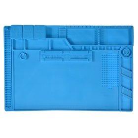 Коврик силиконовый, теплоизоляционный для разбора и пайки 45х30 см (S170)