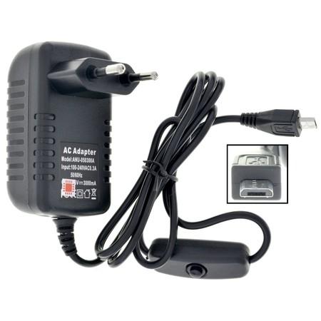 Зарядка Micro USB / 5V 3A для LG K8 LTE K350E