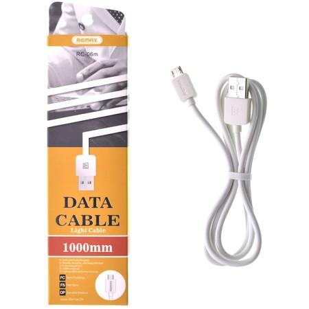 DATA кабель USB - micro USB Remax 1m Philips Xenium W6500