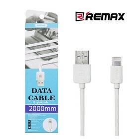 DATA кабель USB - Lightning Remax Remax RC-06i 2m белый