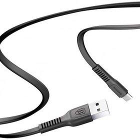 DATA кабель USB - micro USB Baseus Tough CAMZY-B01 1m черный
