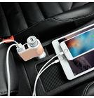 Зарядка АЗУ - 2 х USB / 5V 2.1A белый для LG G5 H850