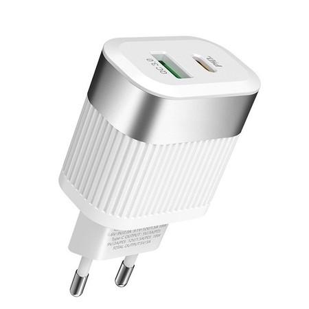 Зарядка USB + Type-c / 3.6-12V 1.5-3A для LG G5 H850