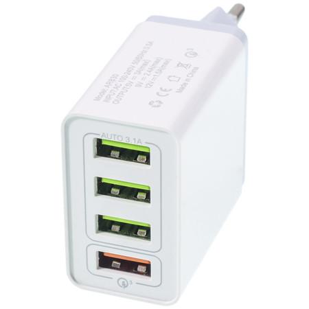 Зарядка USB / 3.6-12V 3,1A для LG KP110