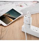 Зарядка USBх2 / 5V 2,4A + кабель MicroUSB белый для LG KG810