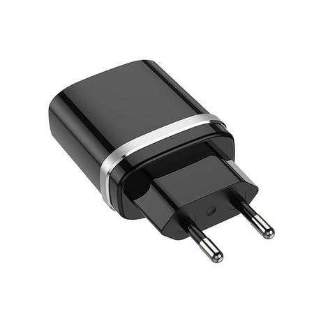 Зарядка USB / 3.6-12V 3A черный для LG KE800