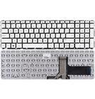 Клавиатура белая без рамки для HP Pavilion 15-p103nr