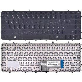 Клавиатура для HP ENVY Sleekbook 6-1000 черная с черной рамкой