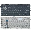 Клавиатура черная без рамки для Sony Vaio SVP1321A4E