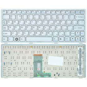 Клавиатура серебристая Sony VAIO VPCW11S1R/P