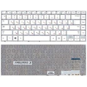 Клавиатура для Samsung NP470R4E белая