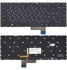 Клавиатура для Lenovo Yoga 2 13 черная без рамки с подсветкой