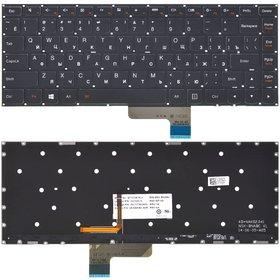 Клавиатура Lenovo Yoga 2 13 черная без рамки с подсветкой