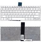 Клавиатура белая для ASUS X200CA