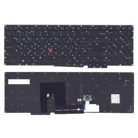 Клавиатура для Lenovo ThinkPad S540 черная (Управление мышью)