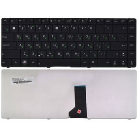Клавиатура черная для ASUS X43BY