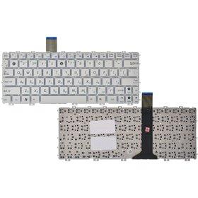 Клавиатура для Asus EEE PC 1015 белая без рамки (Горизонтальный Enter)