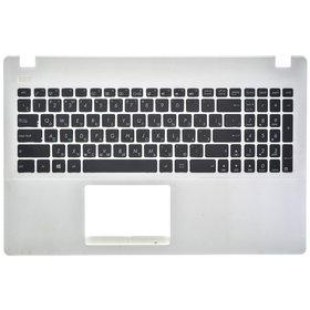 Клавиатура для Asus X551 (Топкейс белый)