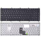 Клавиатура Clevo W765SUN черная без рамки