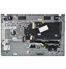 Клавиатура для Samsung NP550P7C черная (Топкейс серый)
