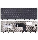 Клавиатура для HP Pavilion dv6-7000 черная с черной рамкой
