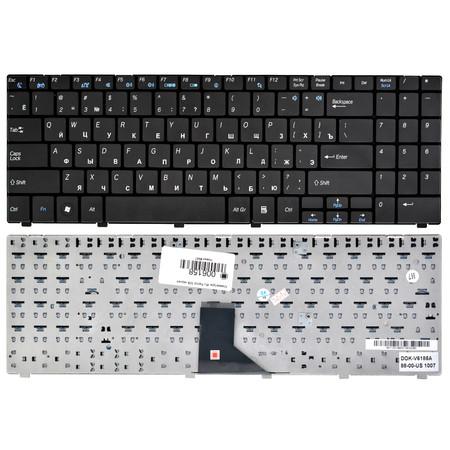 Клавиатура черная iRU Patriot 508