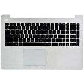Клавиатура для Asus X553 черная (Топкейс белый)