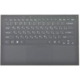 Клавиатура для Sony VAIO SVP132 черная (Топкейс черный)