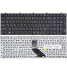 Клавиатура черная с черной рамкой для DEXP Atlas H168