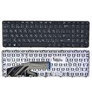 Клавиатура черная с черной рамкой для HP ProBook 650 G2