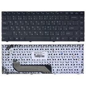 Клавиатура для DNS Ultrabook (0157253) X300V черная с черной рамкой