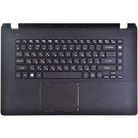 Клавиатура для Packard Bell EasyNote TF71BM z5wgm черная (Топкейс черный)