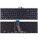 Клавиатура черная с подсветкой для HP Pavilion 15-ab232ur
