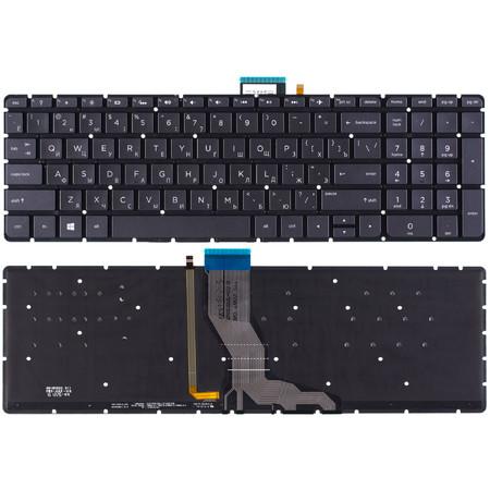 Клавиатура черная HP Pavilion 15-cs0024ur