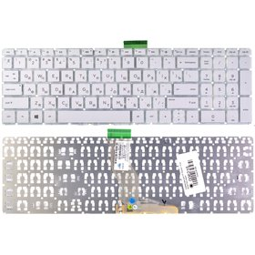 Клавиатура для HP Pavilion 15-bs белая без рамки
