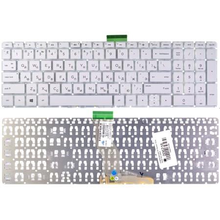 Клавиатура белая без рамки HP Pavilion 15-cs0012ur