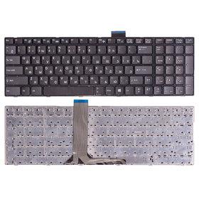 Клавиатура для MSI CR61 (MS-16GP) черная с черной рамкой