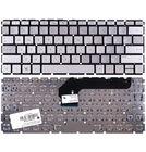 Клавиатура серебристая без рамки с подсветкой для HP Envy 13-d003ur