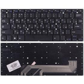 Клавиатура для Prestigio Smartbook 141C PSB141C01BFH черная без рамки