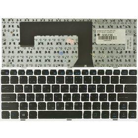 Клавиатура для DNS (0801182) M100P черная с серебристой рамкой