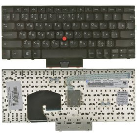 Клавиатура для Lenovo ThinkPad Twist s230u черная без подсветки