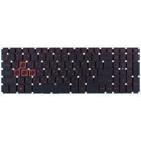 Клавиатура для Acer Aspire VX5-591G черная с подсветкой